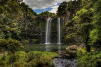 Whangarei Falls, Northland New Zealand. I was an exchange student in Whangarei and I did not see this! It's beautiful! Oh The Places You'll Go, Places Around The World, Places To Travel, Around The Worlds, Oregon, Pictures Of The Week, To Infinity And Beyond, Heaven On Earth, Amazing Nature