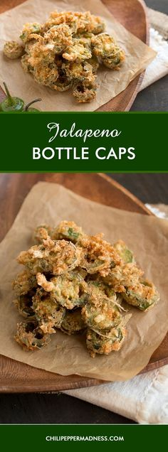 Jalapeno Bottle Caps – Make your own crispy, crunchy, restaurant style battered and fried jalapeno bottle caps at home. Here is the recipe.