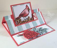 Debbie's Designs: Swing Easel Card Fold & New Video!