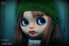 Vera - Custom Blythe Doll #41# by Carmen Rubio | Flickr - Photo Sharing!