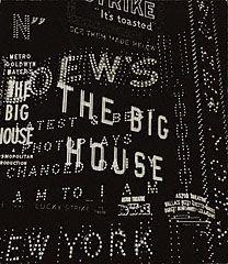 Times Square / Broadway Composition, Walker Evans, 1930