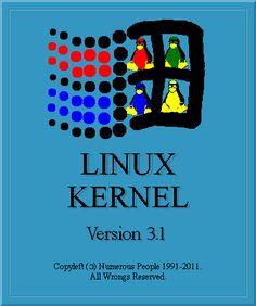 Linux Kernel 3.1 (old) new logo.