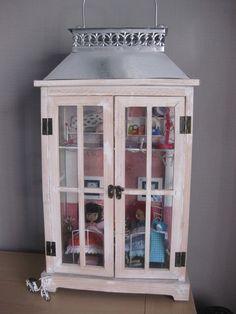 My Blythe diorama in a lantern..