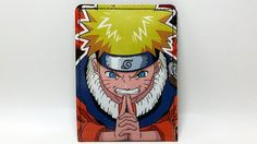 Sewn Comic Book Wallet  Naruto Design 10 by DuctTuff on Etsy