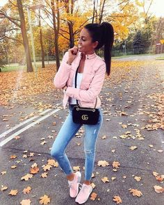 Ideas Party Outfit Frauen Rosa For 2019 Sporty Outfits, Mode Outfits, Girly Outfits, Classy Outfits, Trendy Outfits, Girl Fashion, Fashion Looks, Fashion Outfits, Fall Winter Outfits