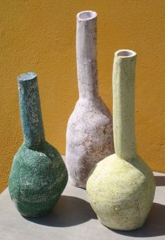 bottles by Maria Tsantaki in Amfitriti shop