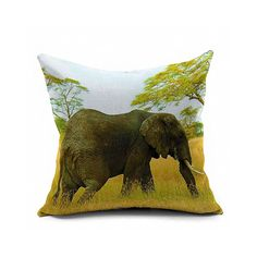 Cotton Flax Pillow Cushion Cover Comprehensive BZ383