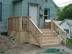 How To Build A Four Step Porch For A Mobile Home Clayton