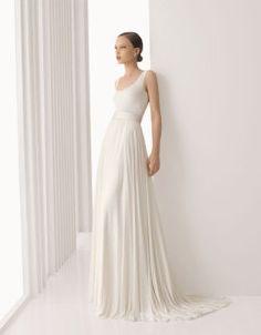 Vestidos de novia sencillos   Preparar tu boda es facilisimo.com