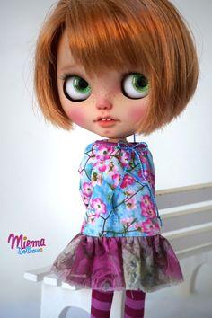 Dress for Blythe da Miema Dollhouse di miema4dolls su Etsy