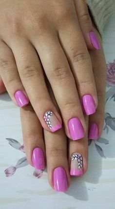 Spring Nails, Summer Nails, Manicure Y Pedicure, French Nails, Nail Art Designs, Polish, Studio, Makeup, Outfits