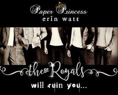 Yesterday's Teaser Tuesday featured the freshly released Paper Princess by Erin Watt. One teaser ain't enough. I adore the story so much so here's more… Royals Series, Elle Kennedy, The Way I Feel, First Girl, Romance Books, Book Series, Teaser, Book Worms, Read More