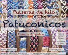 Friendship brazalets Patuconicos.   https://www.facebook.com/pages/Patuconicos-lana-y-algodón/133197553517428?ref=hl http://patuconicos.blogspot.com.es https://twitter.com/patuconicos/media