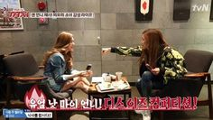 Jessi and Tiffany show off their friendship on 'Taxi' | http://www.allkpop.com/article/2015/03/jessi-and-tiffany-show-off-their-friendship-on-taxi