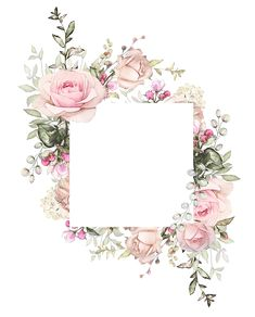 Vintage Flowers Frame Decoupage 69 Ideas For 2019 Watercolor Flowers, Watercolor Art, Watercolor Wedding, Wedding Cards, Wedding Invitations, Wedding Invitation Background, Wedding Background, Wedding Logos, Paper Frames