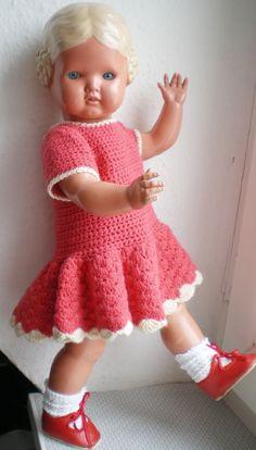 Wunderschöne alte Schildkröt Bärbel Puppe, old german doll | eBay