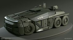 Inspired by the awesome art from Scott Robertson, and made specially for the HP vehicle modeling competition, here& my entry. Army Vehicles, Armored Vehicles, Scott Robertson, Terrain Vehicle, Concept Weapons, Futuristic Cars, Futuristic Vehicles, Batmobile, War Machine