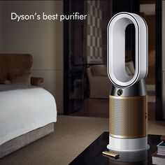 The Dyson Pure Hot Cool Cryptomic™ continually captures and destroys harmful gases released from household items. Spanish Style Homes, Home Gadgets, Teen Girl Bedrooms, House Smells, Shabby Chic Homes, My New Room, Organizer, Household Items, Cleaning Hacks