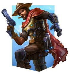 It's High Noon, Andrew Tran on ArtStation at https://www.artstation.com/artwork/qO56P