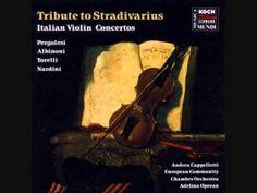 Early Violin Concertos: Albinoni, Nardini, Pergolesi, Torelli - YouTube