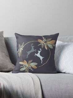 Millions of unique designs by independent artists. Find your thing. Throw Pillows, Pillows, Pillow Design, Prints