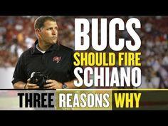 Fire Greg Schiano - Three Reasons Why