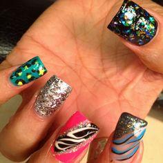 Fun nails......