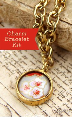 Love this Charm Bracelet Kit (discount code: Save10Now)