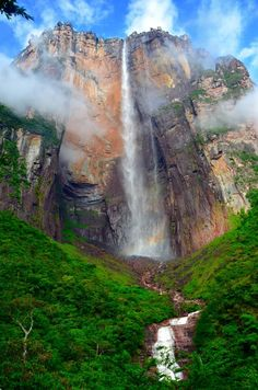 Angel Falls, Venezuela - All pages by Annu   Lily.fi