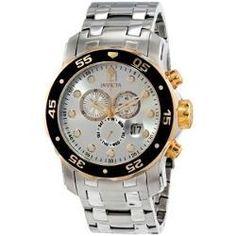 0b7a2225f4f Relógio De Pulso Invicta 80040 Pro Diver Scuba Chronograph Relógios  Masculinos