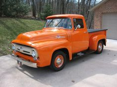 1956 Ford F100 Pick-up I love vintage and older ford trucks along with Chevys too of course