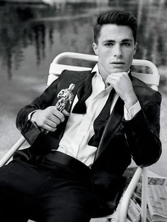 "Colton Haynes as Reginald ""Rex"" Valentine, the novel's POV character"