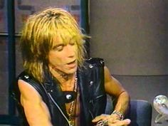 "Iggy Pop; Letterman 1989.  ""Cold Metal""."