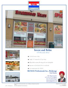 670 Rexdale Blvd, unit 32 is an investment opportunity in Toronto. Investment Property, Opportunity, Toronto, Investing, Commercial, Relax, The Unit, Flooring, Keep Calm