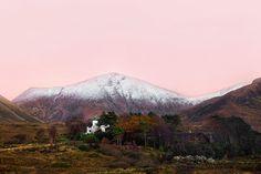 #SOMEWHERE IN #SCOTLAND by Victoria Knobloch #Photocircle #photoart #nature #mountains #landscapephotography #autumn #highlands #sunset #dusk #pink #outdoor #wallart #socent #dogood #artprints #artwall #visualarts #artforsale #artforgood #tomorelove #socialgood #snowypeak