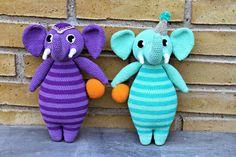 Cirkuselefanterne Sonja og Saxo