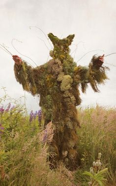Summer Solstice - green creature, would be fun to dance it until it fell off