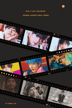 Korea Wallpaper, Bts Polaroid, Bts Merch, Bts Drawings, Aesthetic Design, Graphic Design Art, Poster Wall, New Friends, Photo Editing