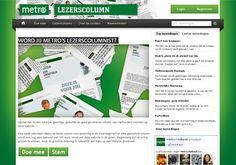 Metro Column Contest - writing contest