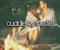 309. Cuddle by the fire