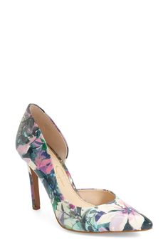 Claudette Half d'Orsay Pump by Jessica Simpson on @nordstrom_rack