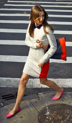 Color block - spring trend everyone has to try