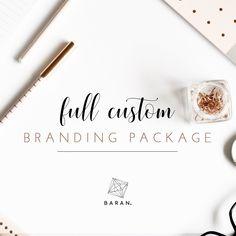 Custom Starter Branding Kit Designed by EmaBaranDesign _______________________________________________________________ Do not forget to contact me via Etsy conversation before purchasing the listing! Design Logo, Graphic Design Services, Custom Logo Design, Art Design, Branding Design, Graphic Designers, Bespoke Design, Custom Art, Thank You Card Design