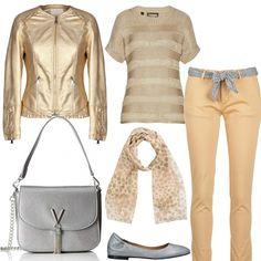 in Primavera Beige  Tutte le nuances  outfit donna Trendy per serata fuori   1151f45c078