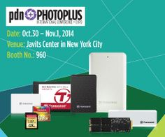 Transcend to Showcase Its Photographic Solutions at PhotoPlus 2014