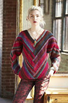 Ravelry: #07 Kimono-Sleeve Pullover by Irina Poludnenko