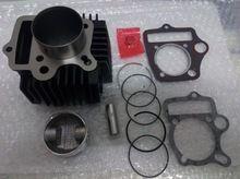 110cc Cylindre Joint Ensemble 52.4mm Axe de Piston Anneau Kit pour VTT Go Kart…