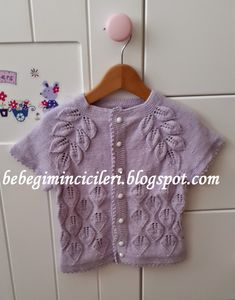 KIZIMIN CİCİLERİ: KIZIMIN YAPRAKLI LİLA YELEĞİ Lace Knitting Patterns, Moda Emo, Viking Tattoo Design, Best Beauty Tips, Homemade Beauty Products, Knitting For Kids, Down Hairstyles, Crochet Clothes, Baby Hats