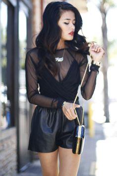 Sexy lil black dress.