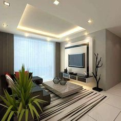 Timeless Living Room Decoration Using Classic Lighting And Furnishing Design Living Room, Living Room Modern, Living Area, Living Room Decor, Modern Tv Room, Modern Tv Wall, Tv Feature Wall, Feature Wall Living Room, Tv Unit Design